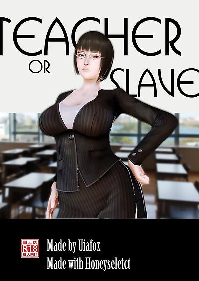 TEACHER OR SLAVE