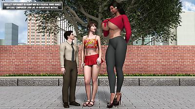 فتاة طويل القامة