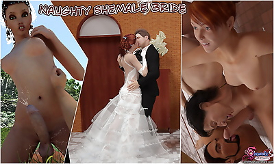 Naughty Shemale Bride