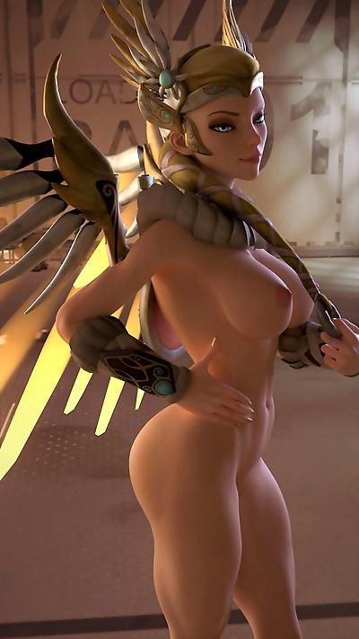 Overwatch animations arhoangel