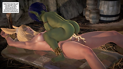 BlueGirl91 GoblinLayer! 3D -..