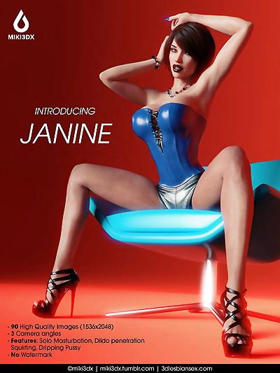 Miki3DX Introducing Janine..