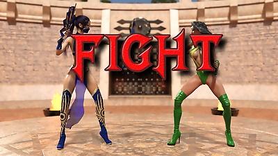 Mortal Kombat – Kitana vs...