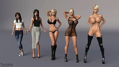 3D Babes