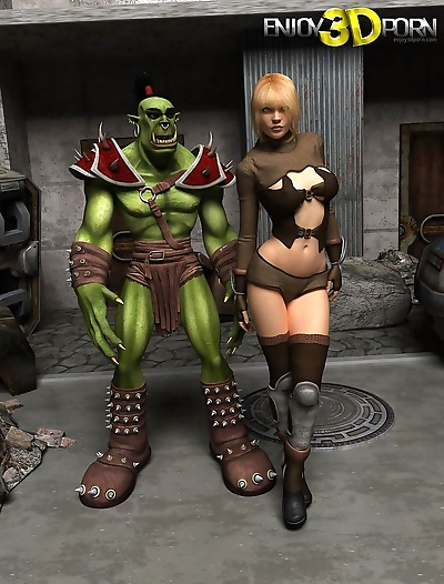 Green goblin with gorgeous..