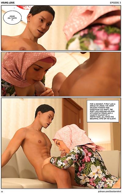 Hijab 3DX- Losekorntrol..