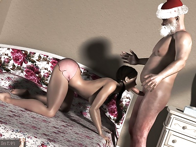 Zens3DGirl- Santa Claus Is..