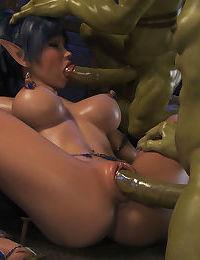 Elven Desires - Dungeon Origins - part 3
