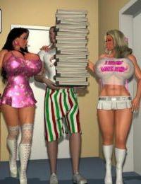 3DAdult- Two big boobs sluts