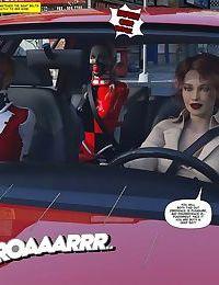 New Arkham for Superheroines 4 - New Management - part 2