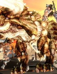 Monster Warriors