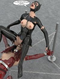 Lock-Master-Catwoman Captured 4 - part 4