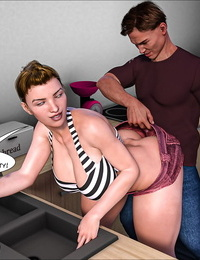 Crazy Dad 3D Father-in-Law at Home 15 English - part 2
