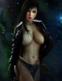 Tifa Lockhart - 3D Compilation - part 2