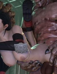 Tifa Lockhart - 3D Compilation - part 4