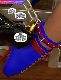 DBComix New Arkham for Superheroines 7 - New Employees - part 3