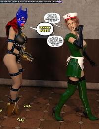DBComix New Arkham for Superheroines 7 - New Employees - part 5
