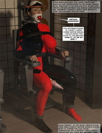 DBComix New Arkham For Superheroines 1 - Humiliation and Degradation of Power Girl Complete - part 2