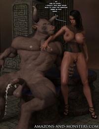 Amazons-vs-Monsters Close Allies - part 5