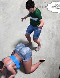 Crazy Dad 3D The Grandma 6 English - part 5