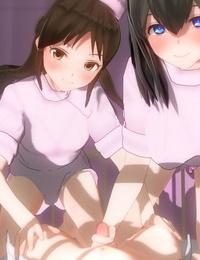 Hokanko Nurse Fumika Sagisawa to Arisu Tachibana THE iDOLM@STER CINDERELLA GIRLS