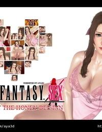 AYA3D 蒂法&艾莉絲 — 放鬆時刻 SEX Final Fantasy VII