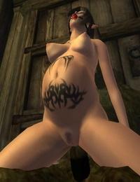 Oblivion Sexdarkness XLovers - part 3