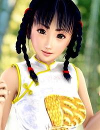 Incise-soul Rukia & Mai etc  3D-CG - part 3