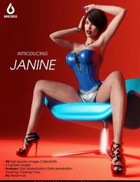 Miki3DX Introducing Janine Pics + Gifs + Animation