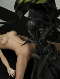 Harlequin-3D Alien